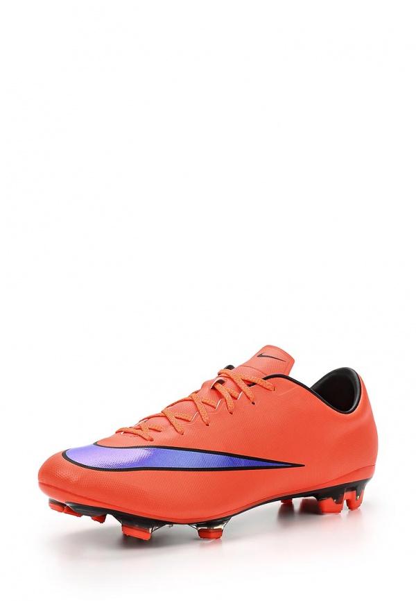 Бутсы Nike 651618-650 красные
