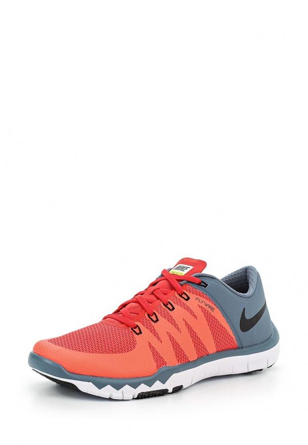 Кроссовки Nike 719922-604 красные, серые