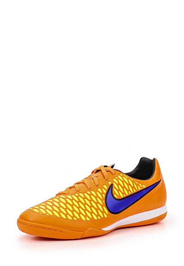 Бутсы зальные Nike 651541-858 оранжевые