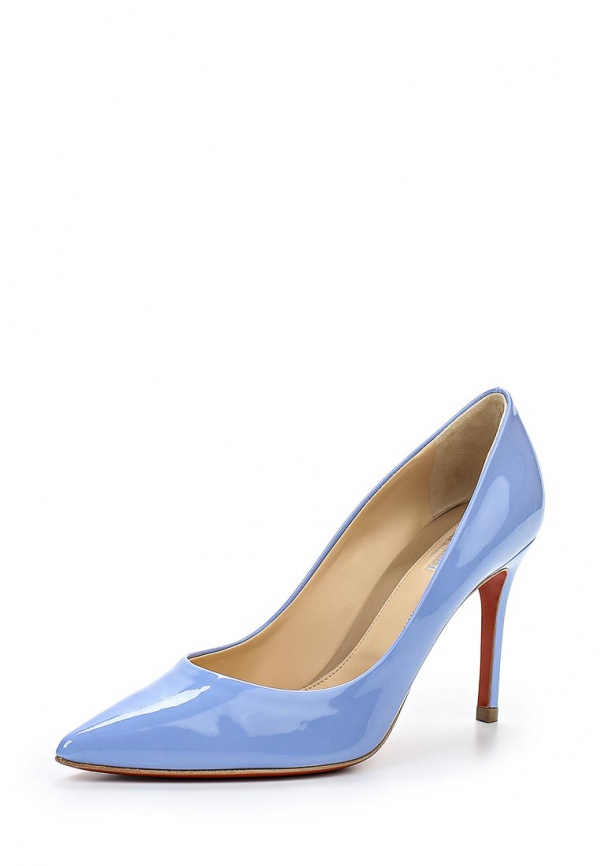 Туфли Baldinini 550004P91AANDYOTSU голубые