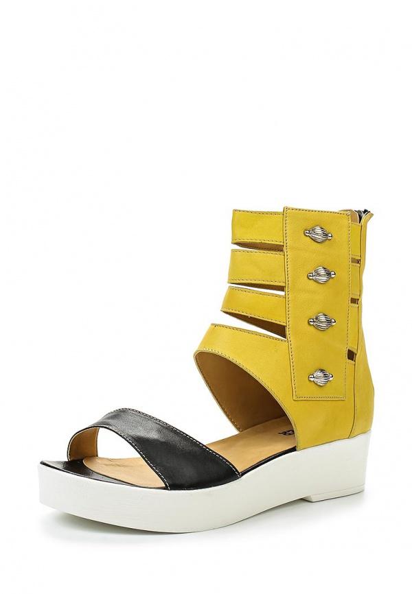Сандалии Cooper 1-15016-1-5 жёлтые