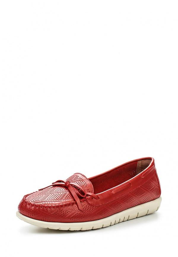 Мокасины Cooper 15206S-1-2K красные