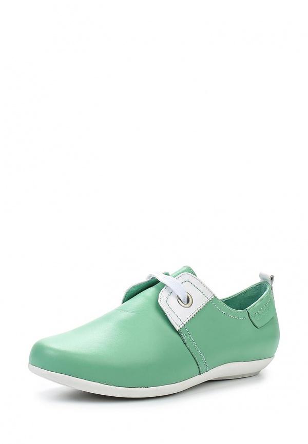 Ботинки Cooper 15219S-4-1K зеленые