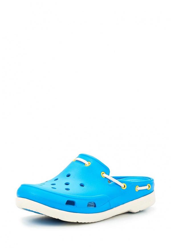 Сабо Crocs 15334-49Y синие
