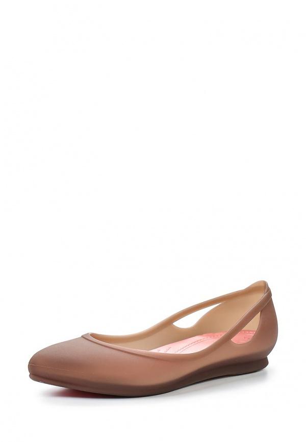 Балетки Crocs 16265-2S3 коричневые