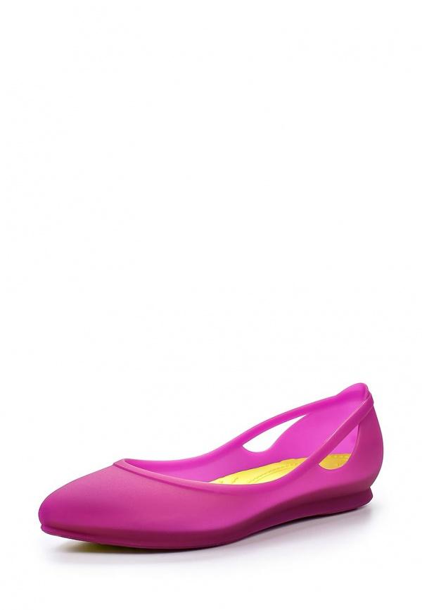 Балетки Crocs 16265-5J6 фуксия