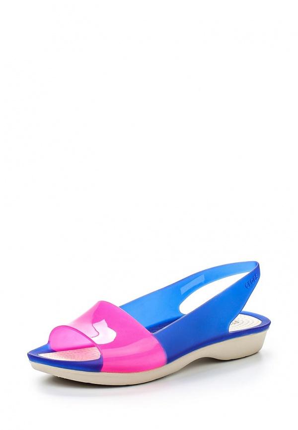 Сандалии Crocs 200032-4BK синие