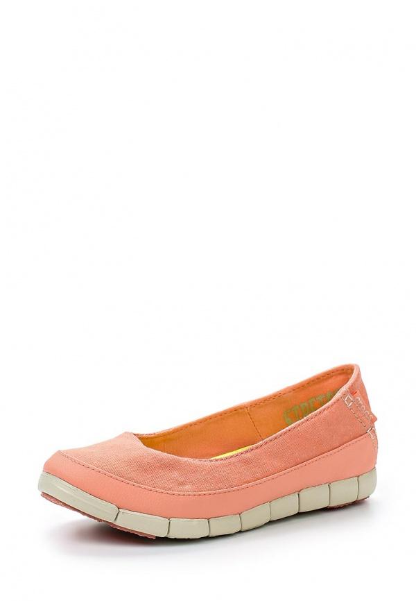 Слипоны Crocs 15317-6KM коралловый
