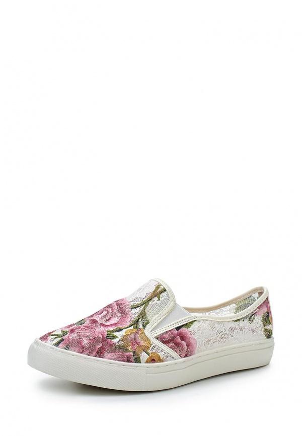 Слипоны Dino Ricci Trend 252-01-16 белые, розовые