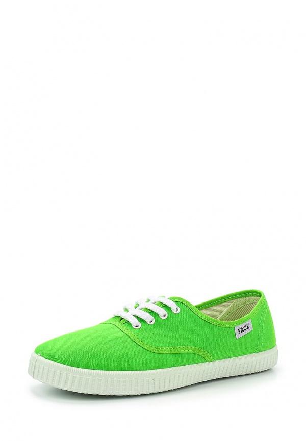 Кеды Face SPJ-W512 зеленые