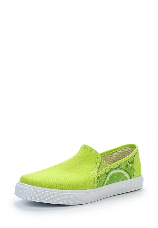 Слипоны Face SPJ-W576 зеленые