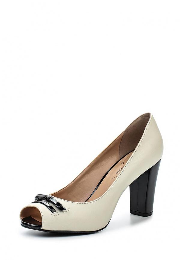 Туфли Francesco Donni P514 BR0DL-808-02С40 белые