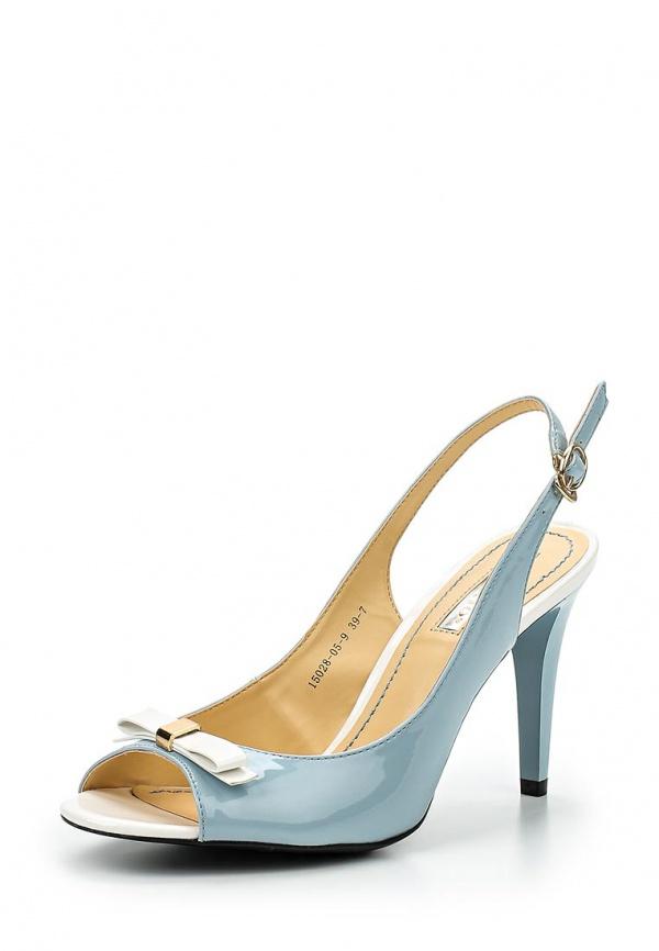 Босоножки Inario 15028-05-9 голубые