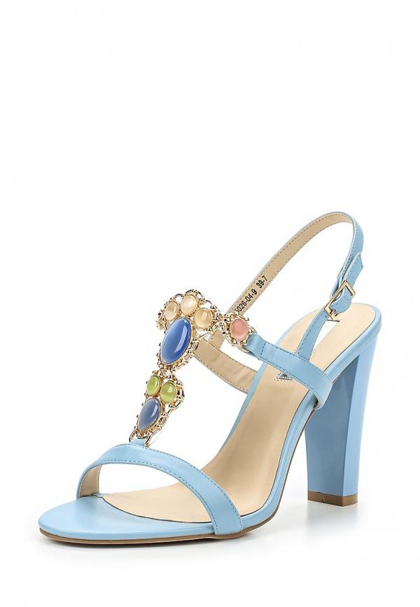 Босоножки Inario 15026-04-9 голубые