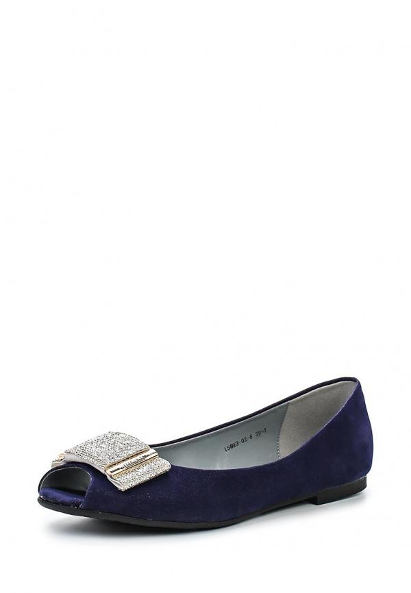 Балетки Inario 15013-02-8 синие
