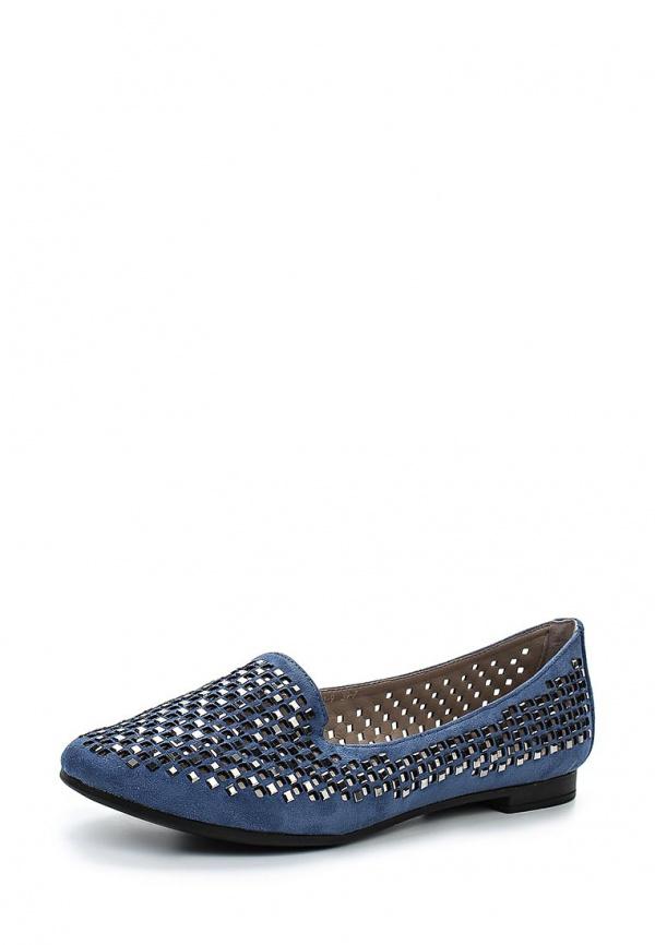 Лоферы Inario 15204-01-9 синие