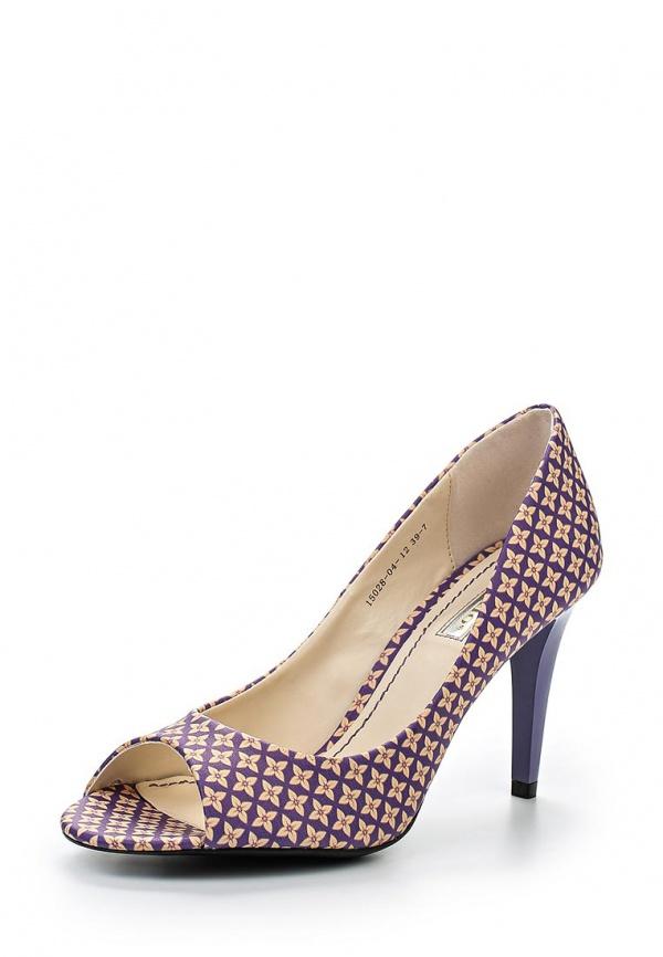 Туфли Inario 15028-04-12 фиолетовые