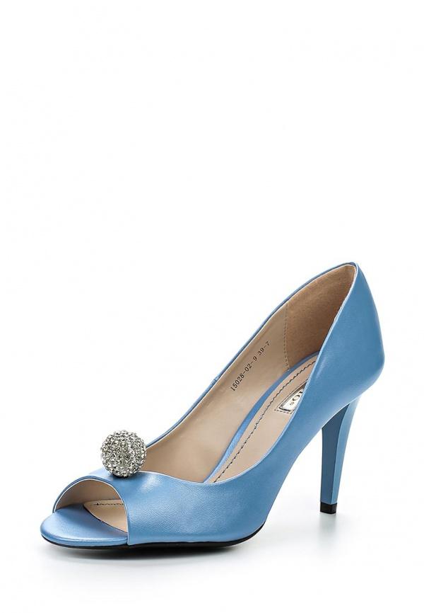 Туфли Inario 15028-02-9 голубые