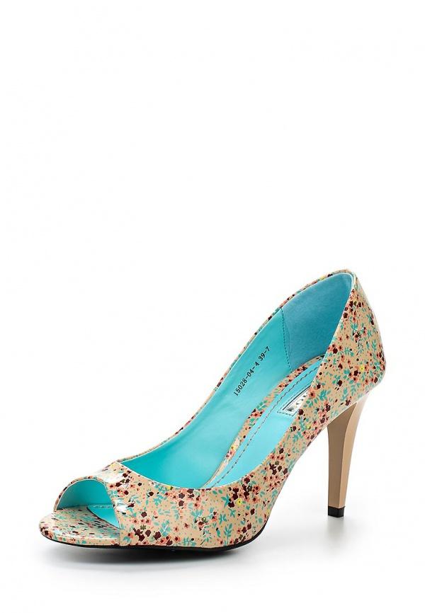 Туфли Inario 15028-04-4 бежевые