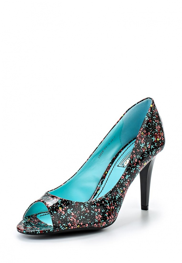 Туфли Inario 15028-04-8 чёрные