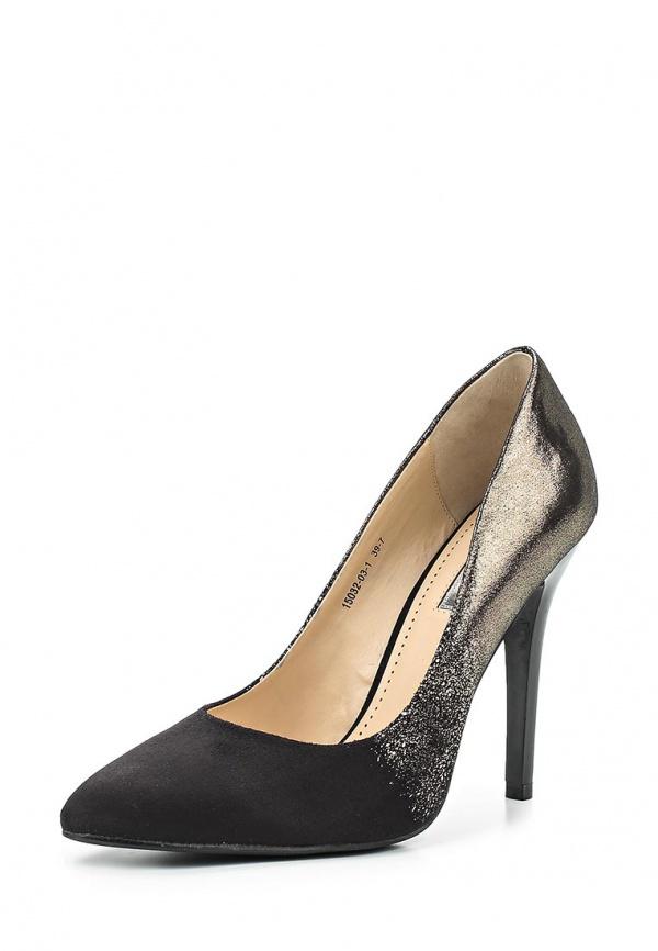Туфли Inario 15032-03-1 чёрные