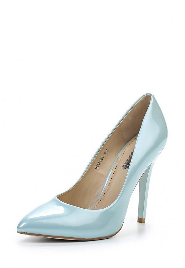Туфли Inario 15032-02-9 голубые