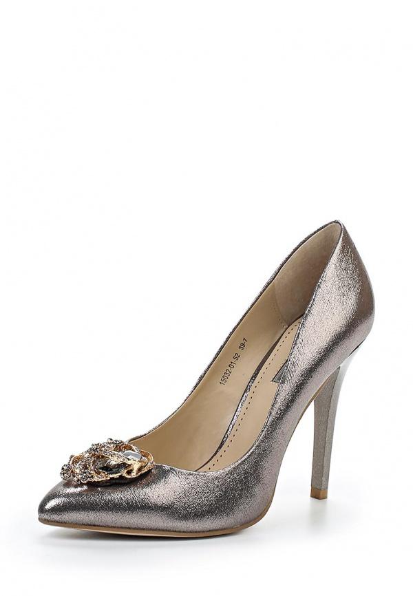 Туфли Inario 15032-01-52 серебристые