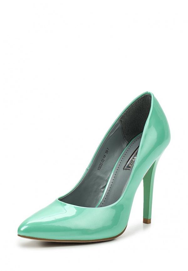 Туфли Inario 15032-02-14 зеленые
