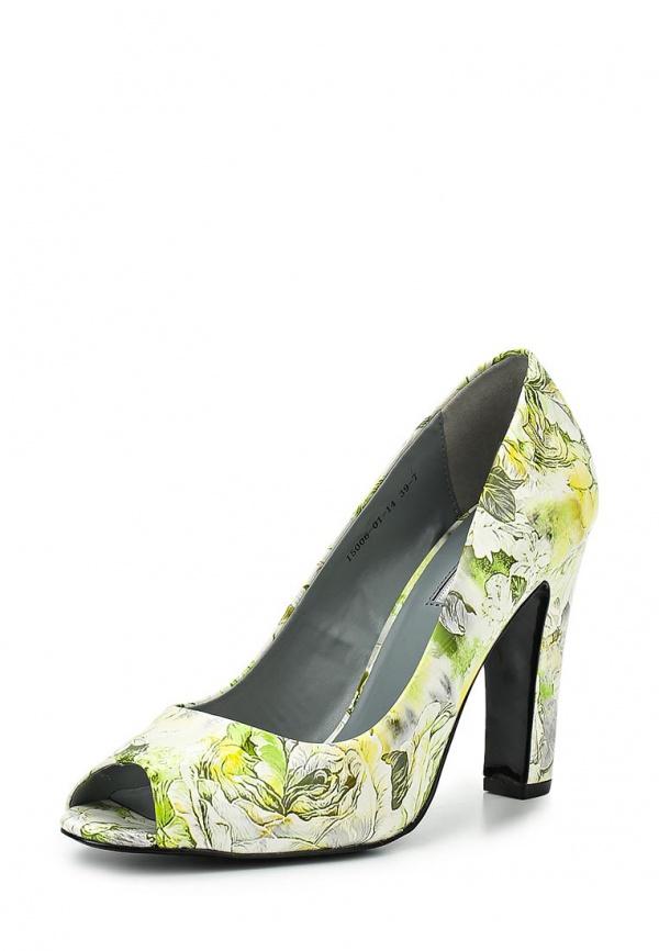Туфли Inario 15006-01-14 зеленые