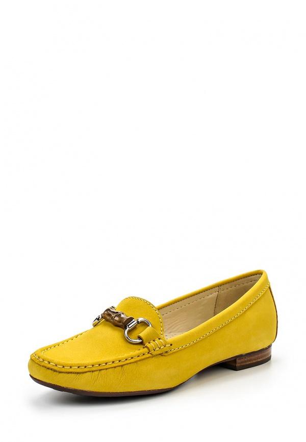 Мокасины Indiana 25691 жёлтые