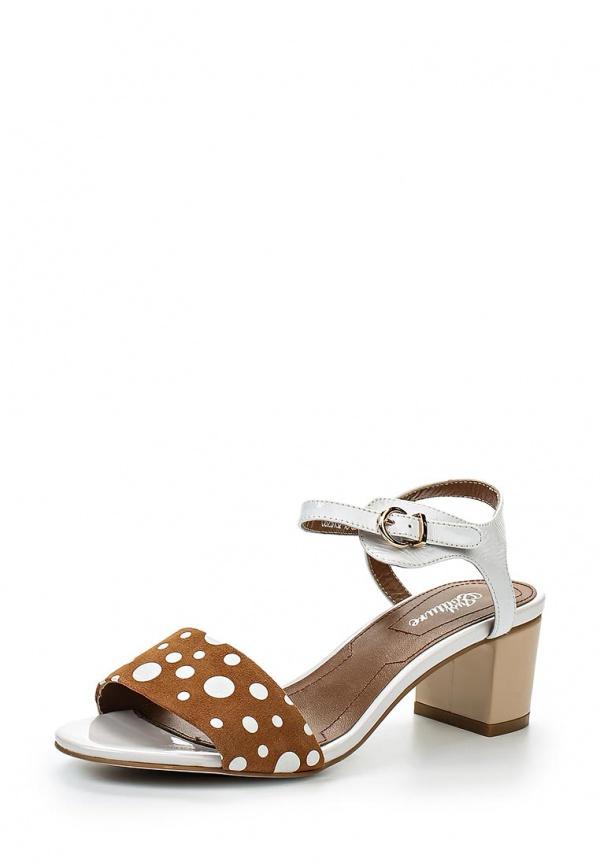 Босоножки Just Couture C6281S2-18 белые, коричневые