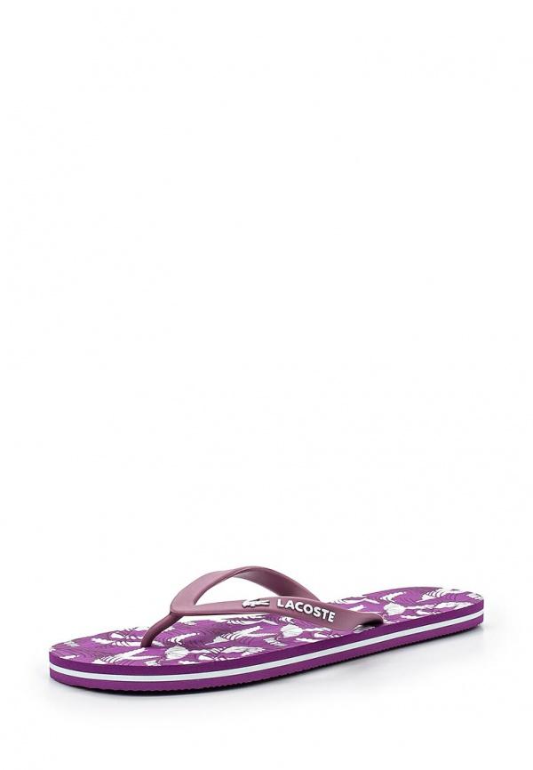 Сланцы Lacoste SPW100284X фиолетовые