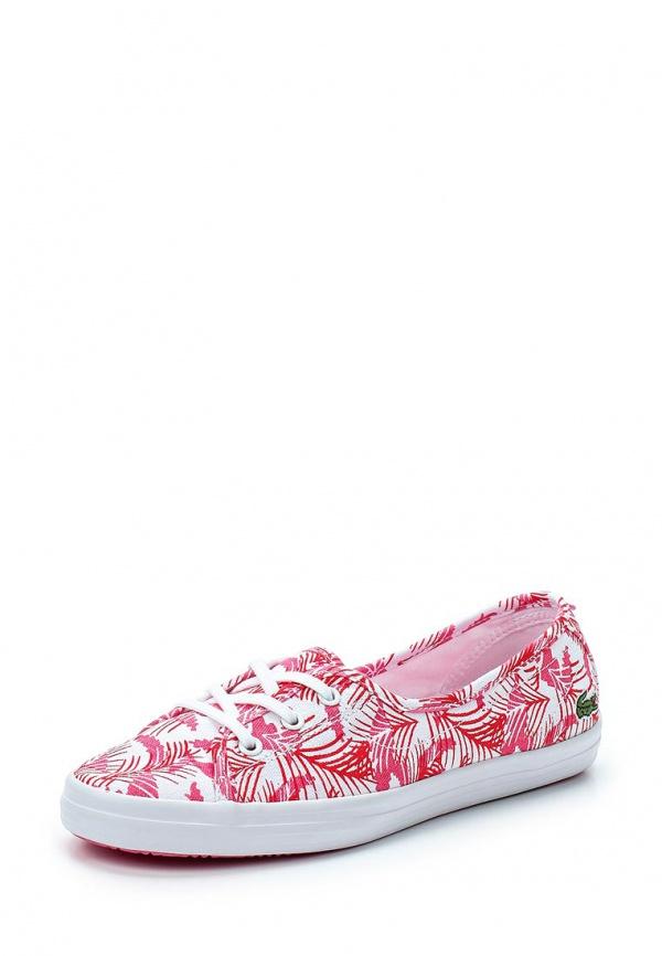 Кеды Lacoste SPW1026W50 розовые