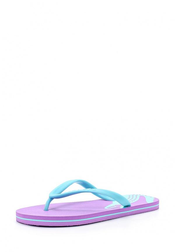 Сланцы Lacoste SCW2202LP1 голубые, фиолетовые