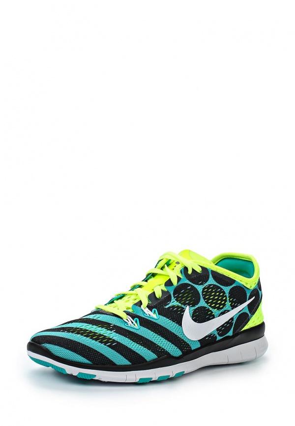 Кроссовки Nike 704695-401 зеленые, чёрные