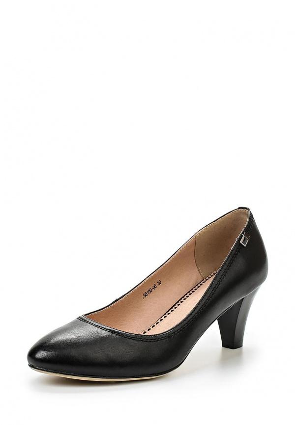 Туфли Provocante 98100-00 чёрные