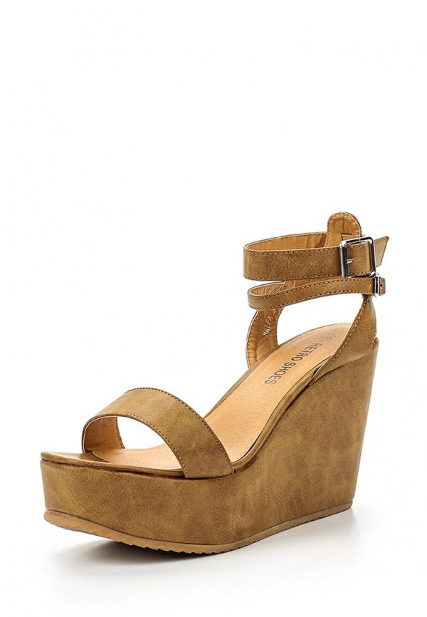 Босоножки Retro Shoes HAIFA коричневые