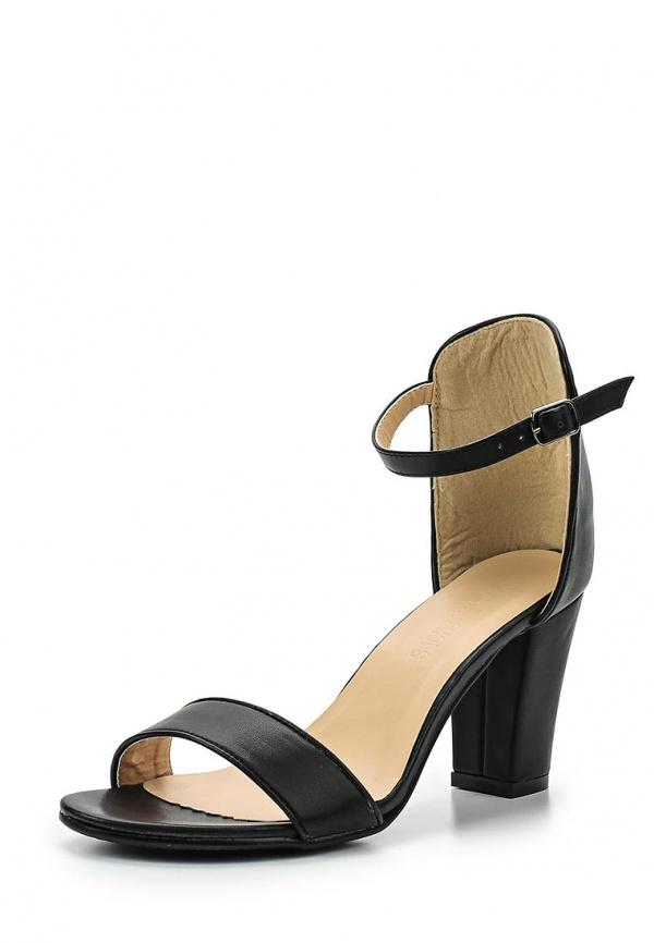 Босоножки Retro Shoes X01 чёрные