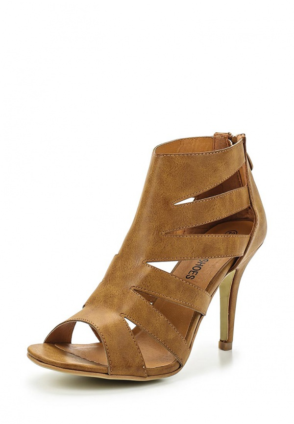 Босоножки Retro Shoes CATANE коричневые