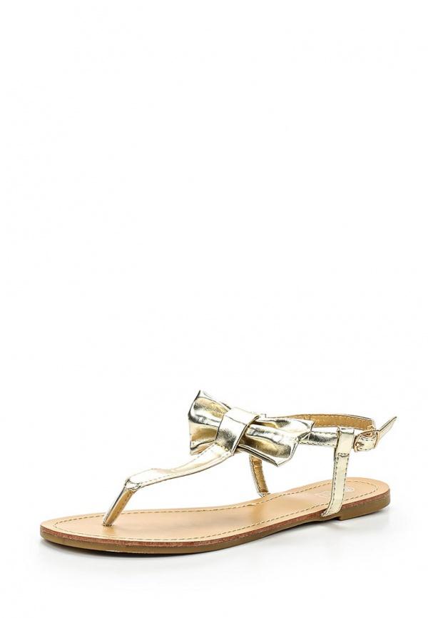 Сандалии Retro Shoes A831 золотистые