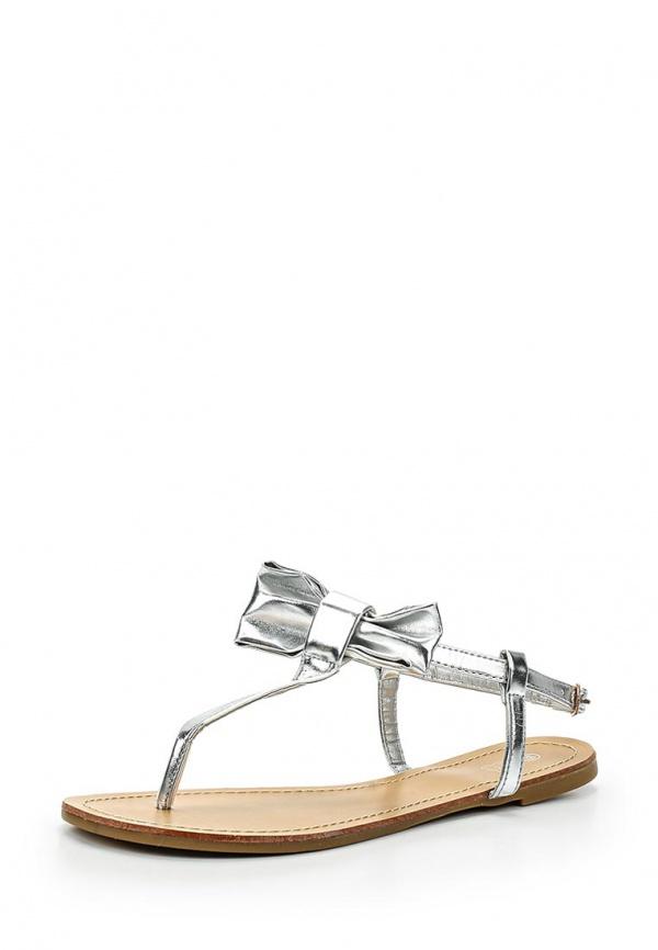 Сандалии Retro Shoes A831 серебристые