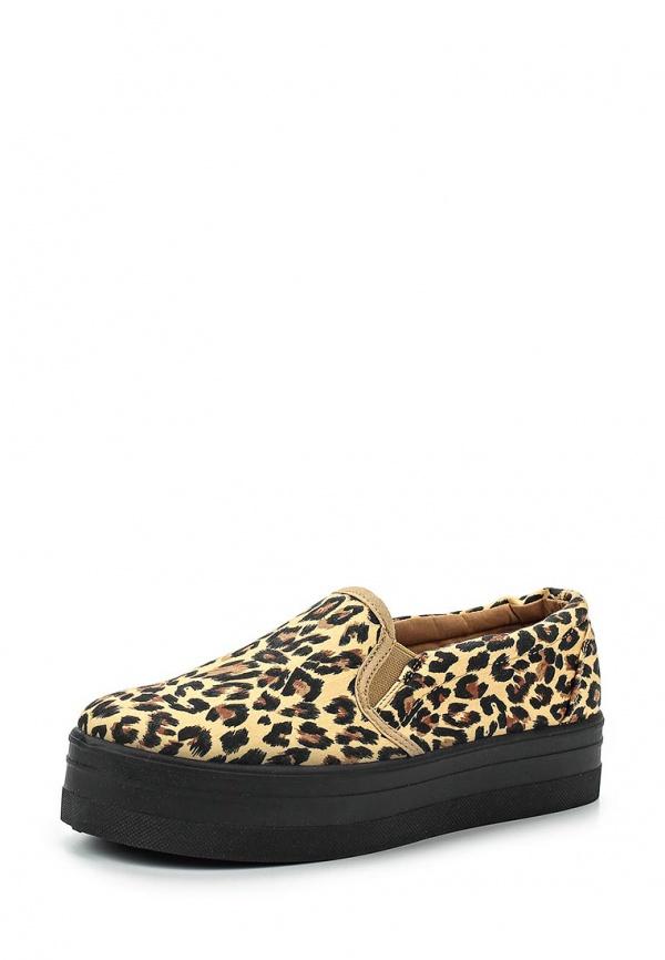 Слипоны Retro Shoes 430 бежевые