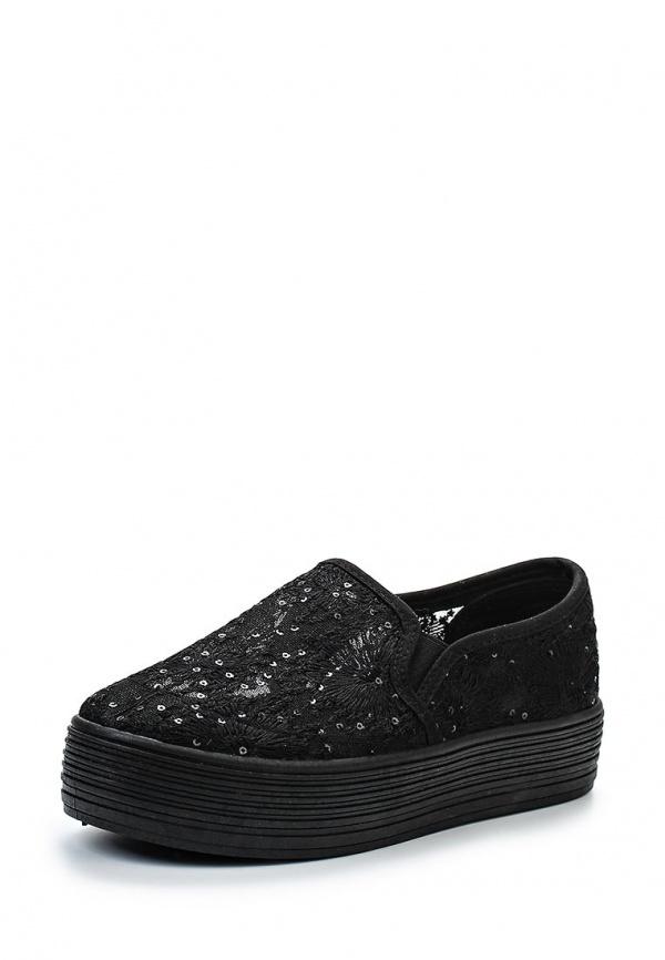 Слипоны-криперы Retro Shoes 433 чёрные