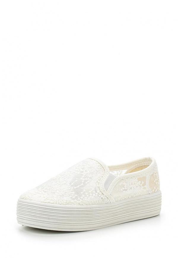 Слипоны-криперы Retro Shoes 433 белые