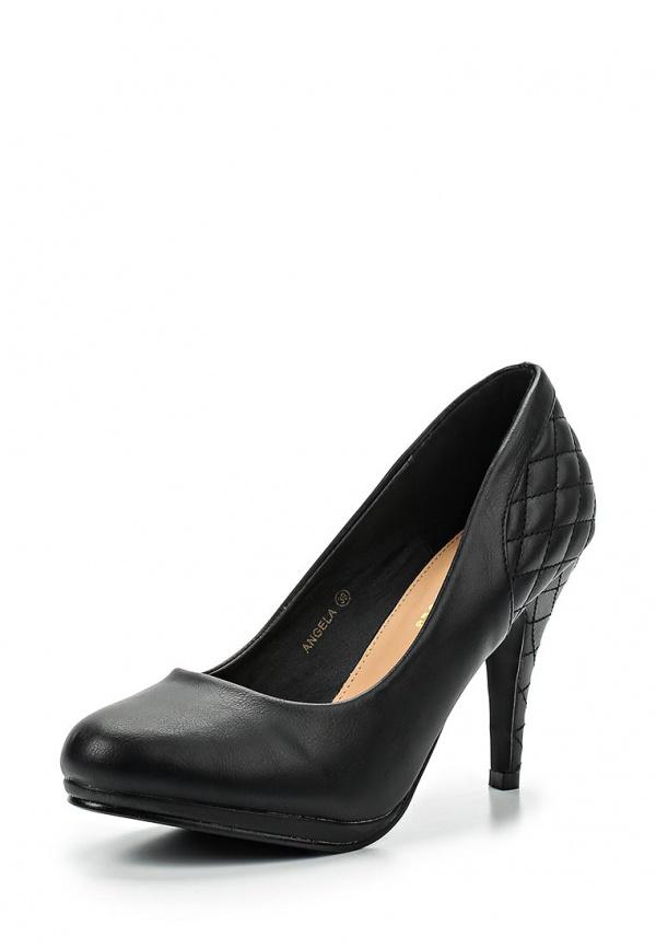 Туфли Retro Shoes ANGELA чёрные