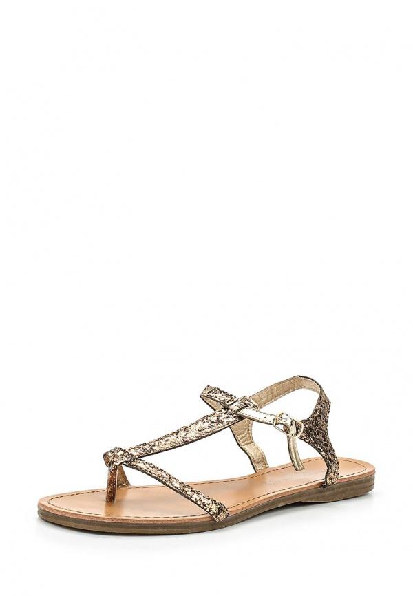 Сандалии Retro Shoes BALE золотистые