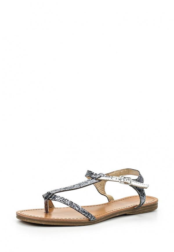 Сандалии Retro Shoes BALE серебристые, серые