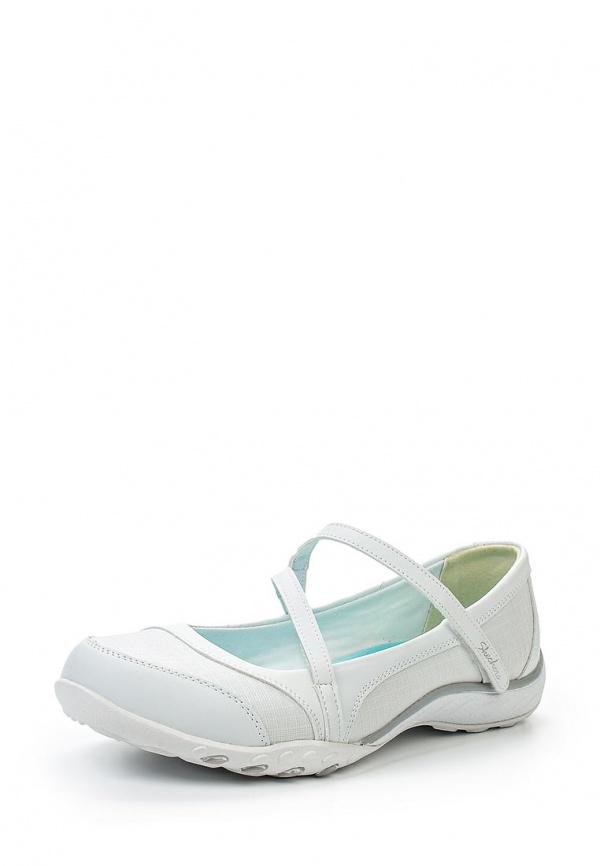 Балетки Skechers 22491 белые
