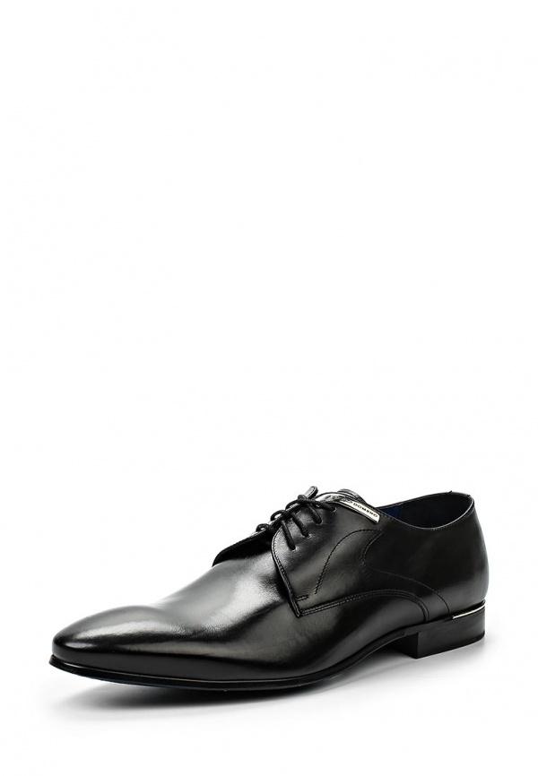 Туфли Domeno 2593 чёрные