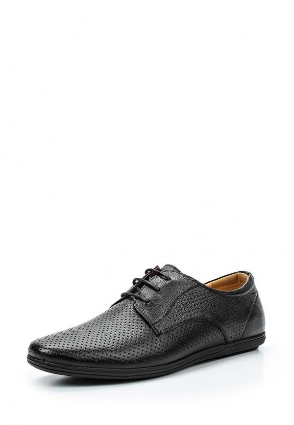 Туфли Quattrocomforto 58-27MK-040KK чёрные